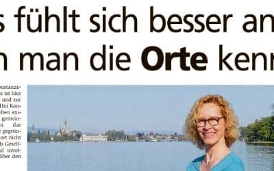 Interview im Konstanzer Anzeiger